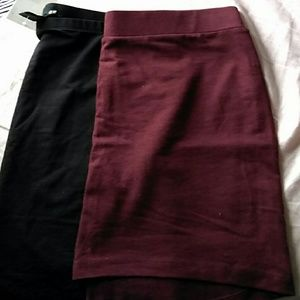 New h&m skirts size xs lot of 2